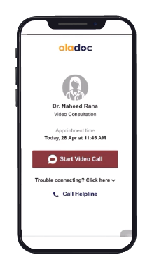 How to Use oladoc's Online Video Consultation Feature?